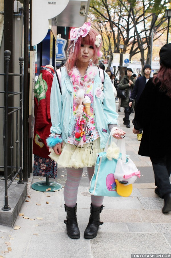 Harajuku Fruits Style Girl