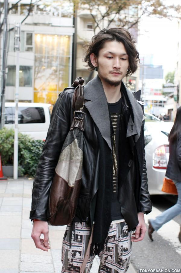 .efiLevol Leather Jacket