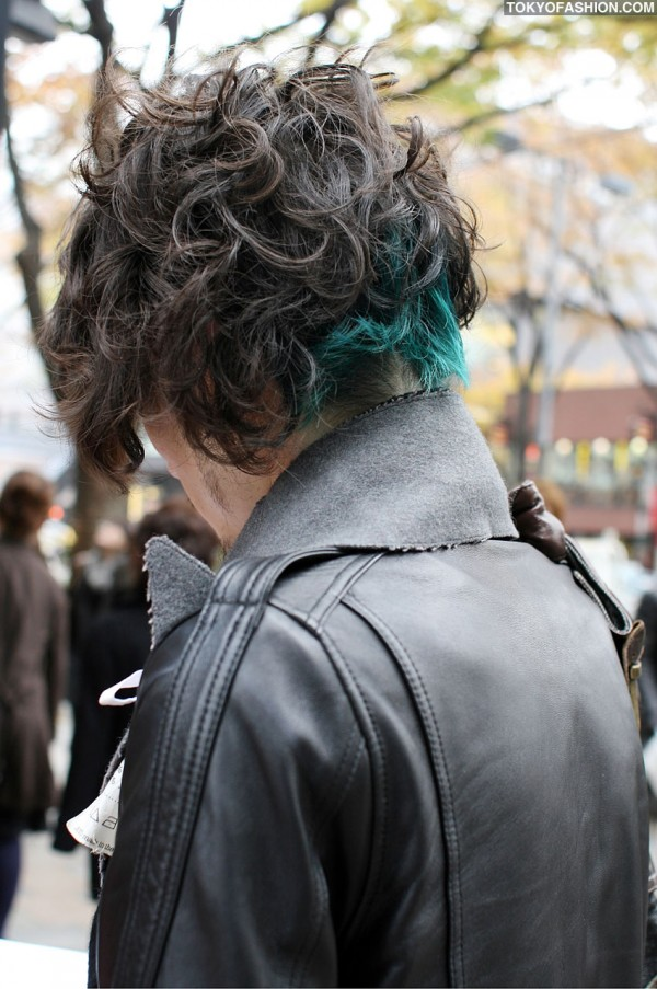 Cool Green Hair Coloring