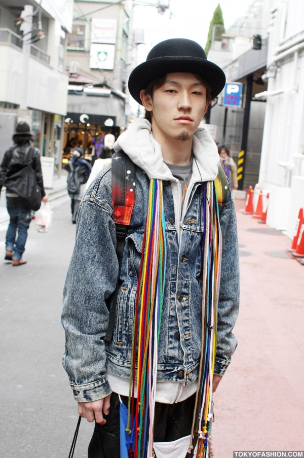 Denim Jacket in Harajuku