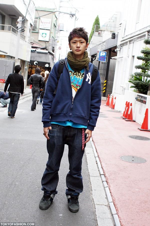 Doarat x Pro-Keds Street Fashion in Harajuku