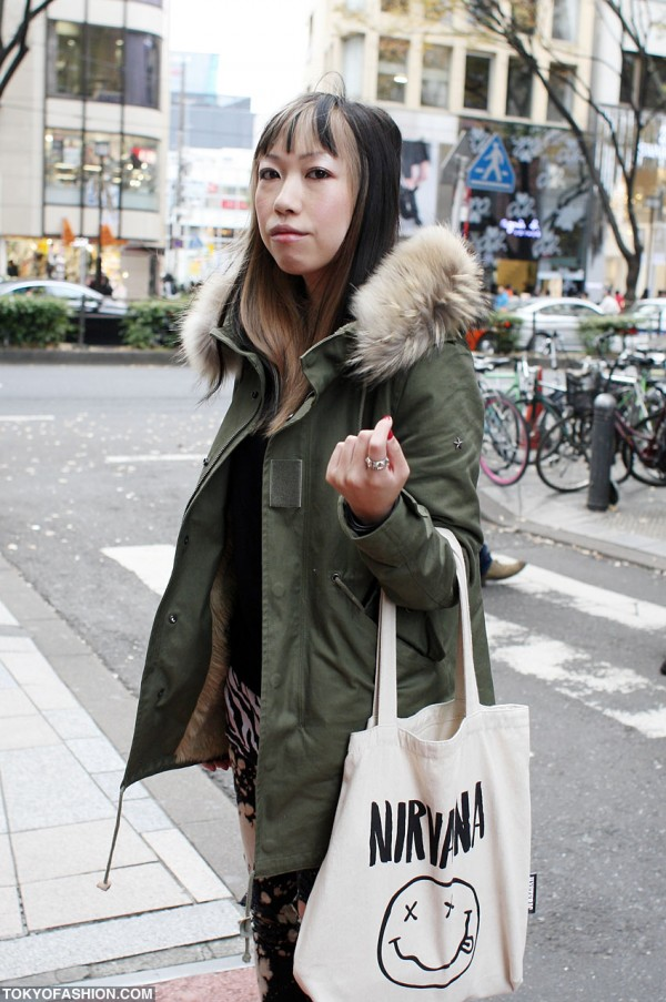 Hysteric Glamour Nirvana Bag
