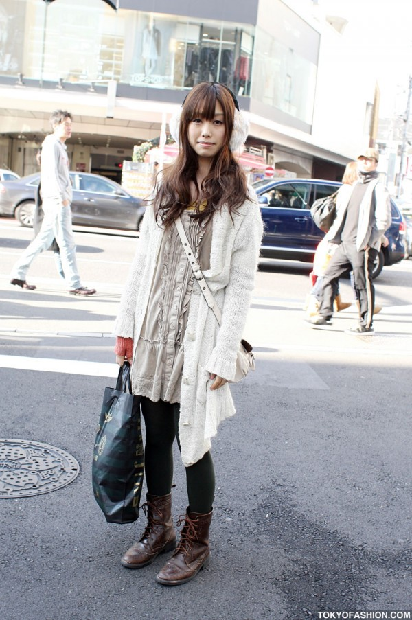 Japanese Layered Fashion