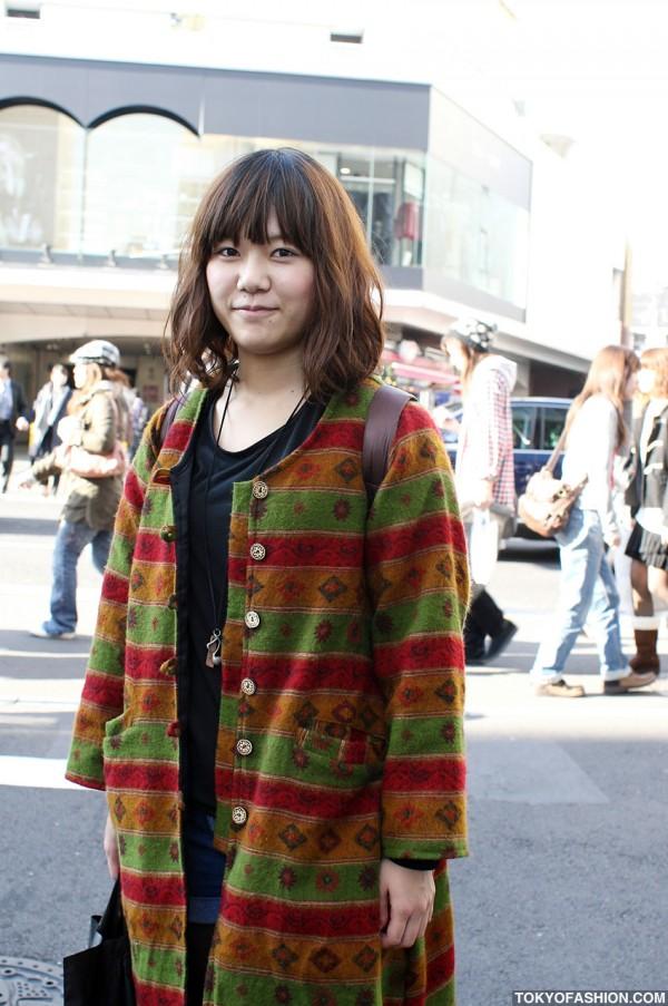 Ethnic Coat in Tokyo