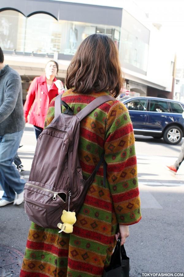 Tokyo Girl w/ Backpack