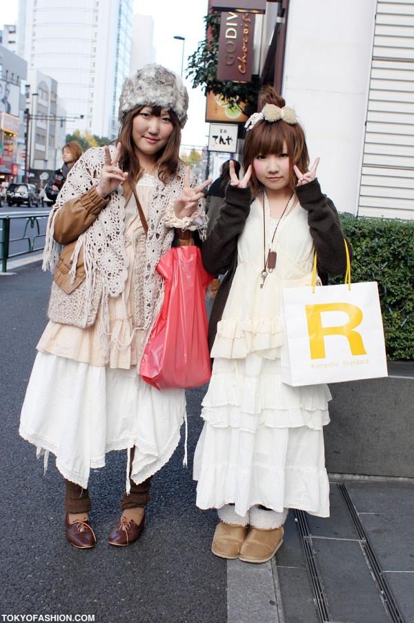 Japanese Girls in Wonder Rocket Fashion