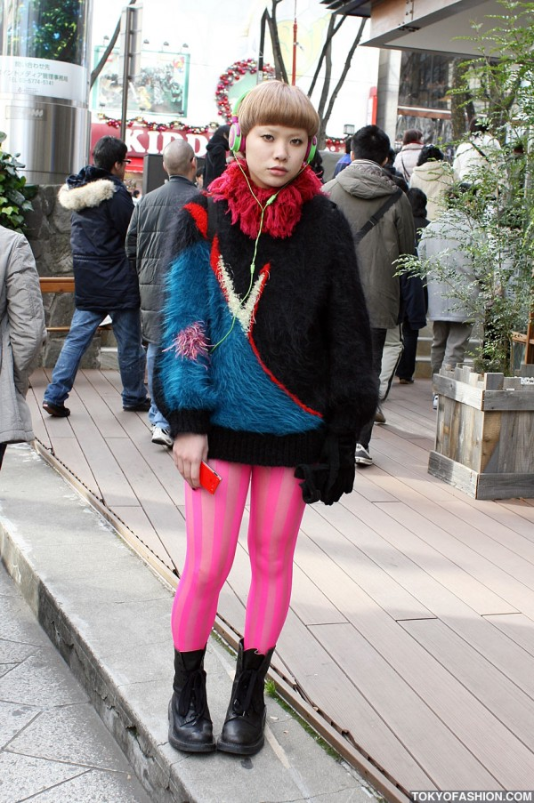 Pretty in Pink in Harajuku