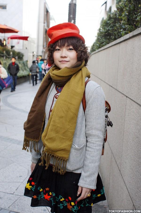 Crumpled Top Hat in Tokyo