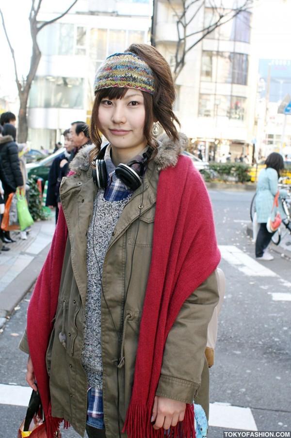 Knit Headband in Harajuku