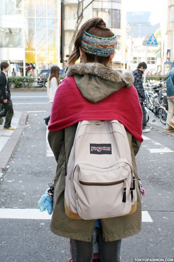 JanSport Back in Tokyo