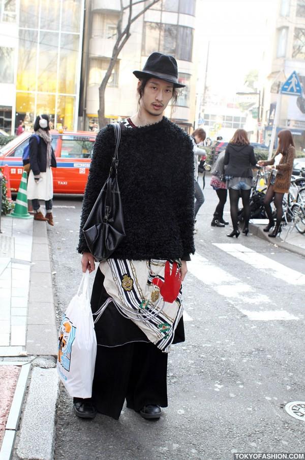 Japanese Guy's Street Fashion