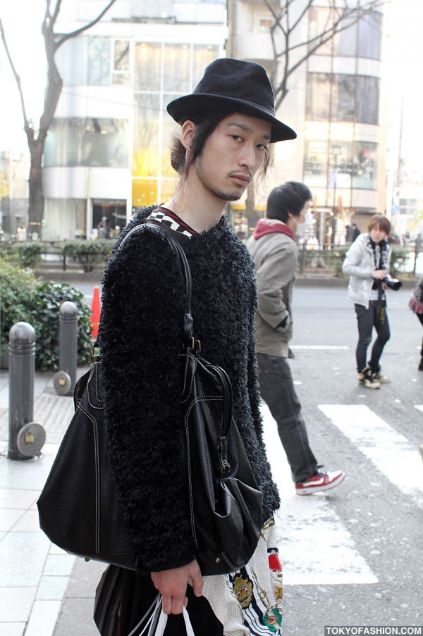 Day Break Harajuku Street Style Japanese Guy