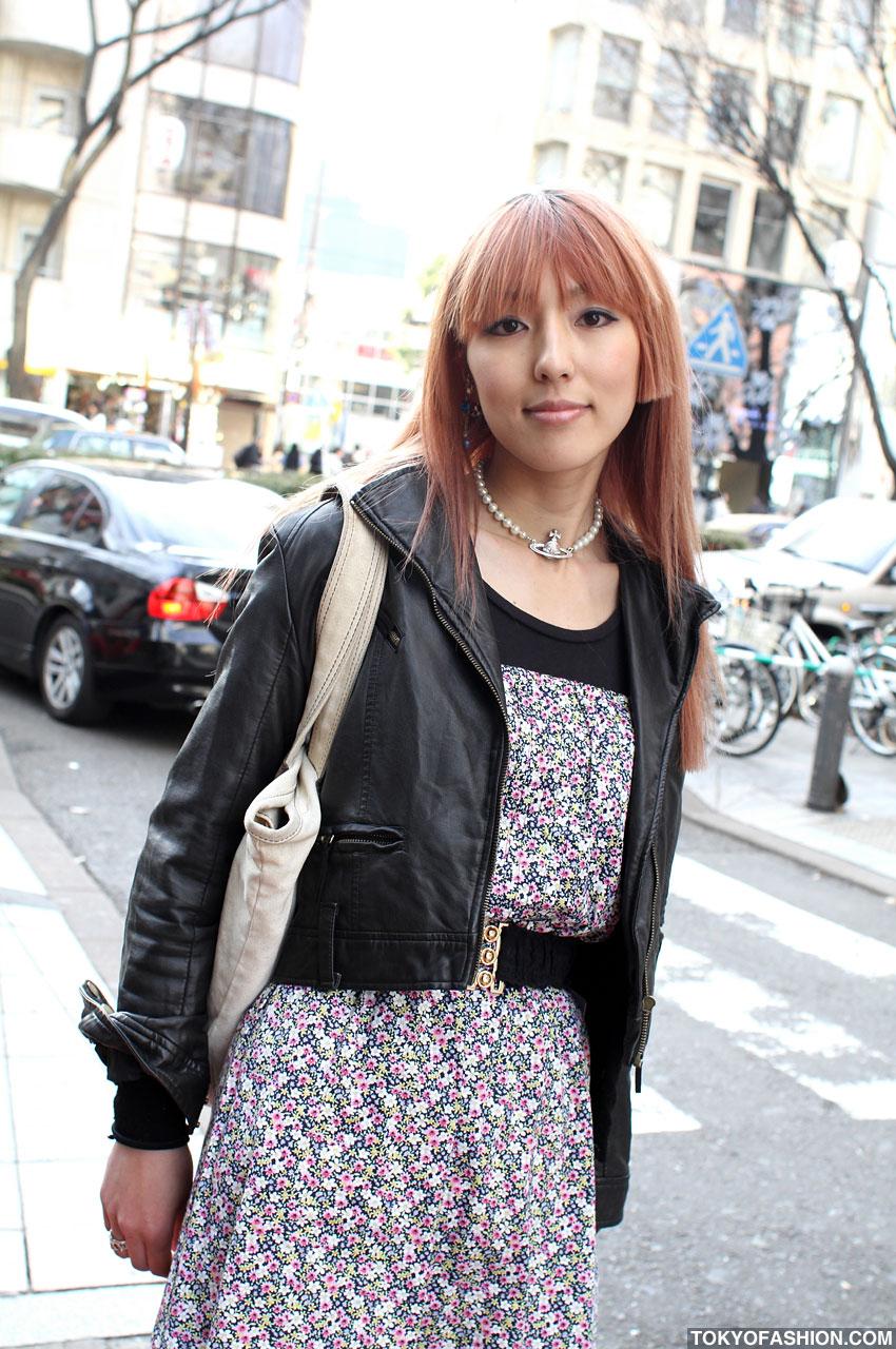 Japanese Girl In Wego Dress Amp Jacket In Harajuku