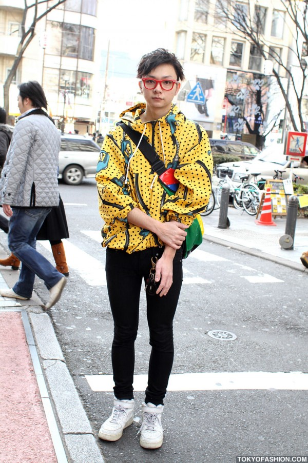 Jeremy Scott Pump & Circumstance in Harajuku