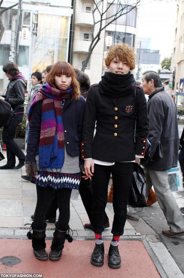 Japanese Beauticians Harajuku Street Style