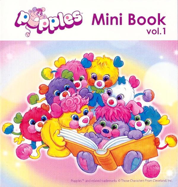 Popples Mini Book