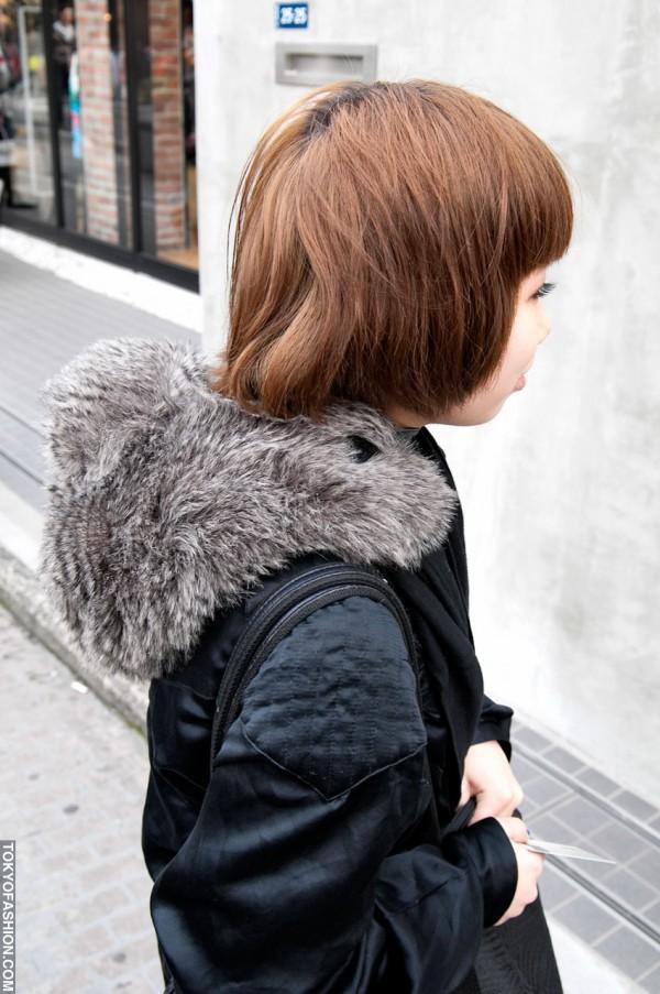 Cute Japanese Short Hairstyle