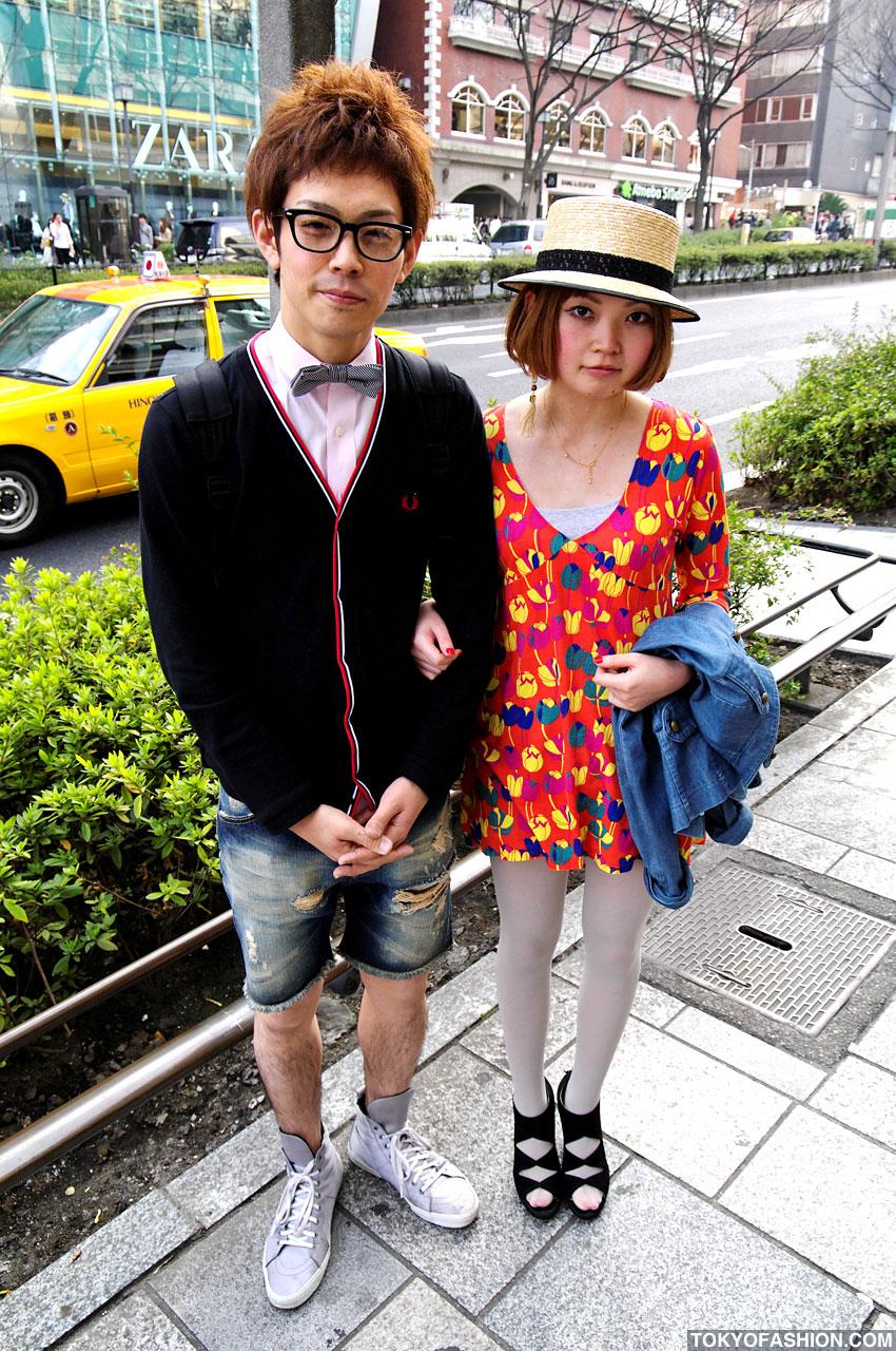 Cute Harajuku Girl and Guy