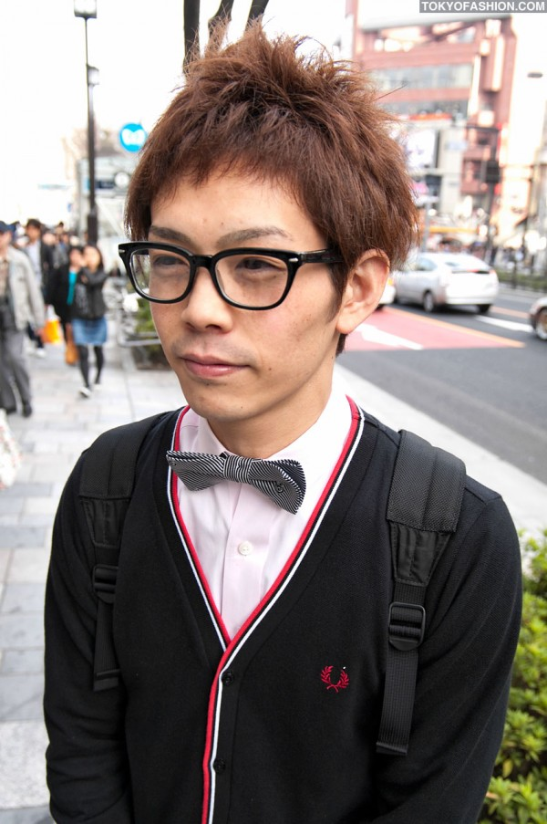 Harajuku Guy in Bow Tie