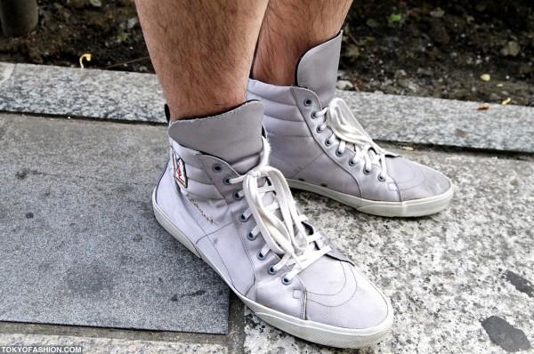 YSL Sneakers in Harajuku