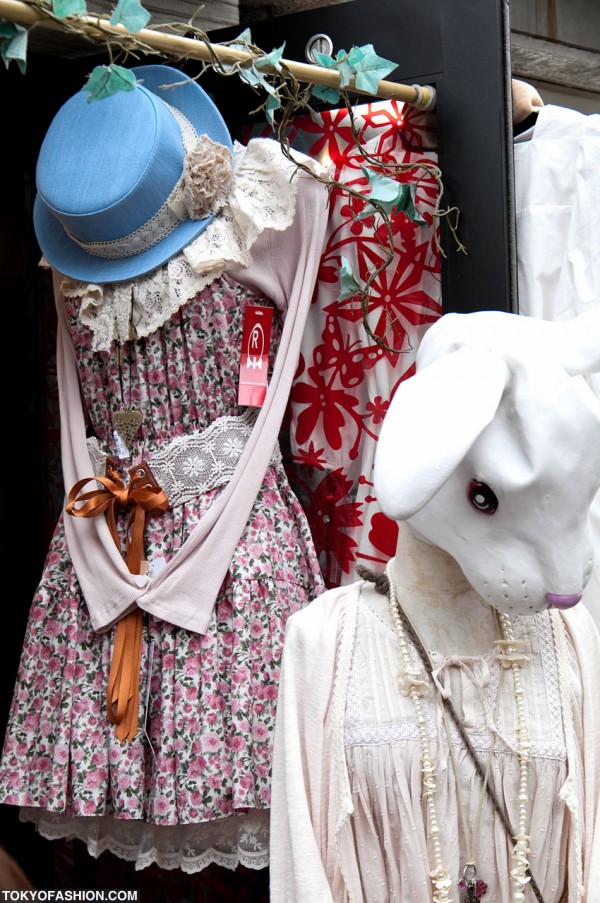 Hats and Bunnies in Harajuku