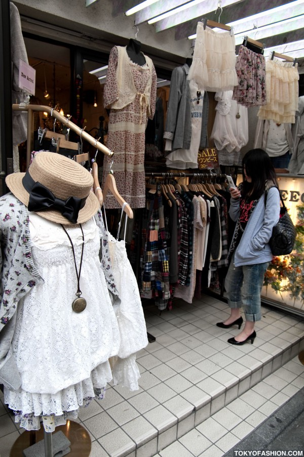 Hat and Clothing in Harajuku