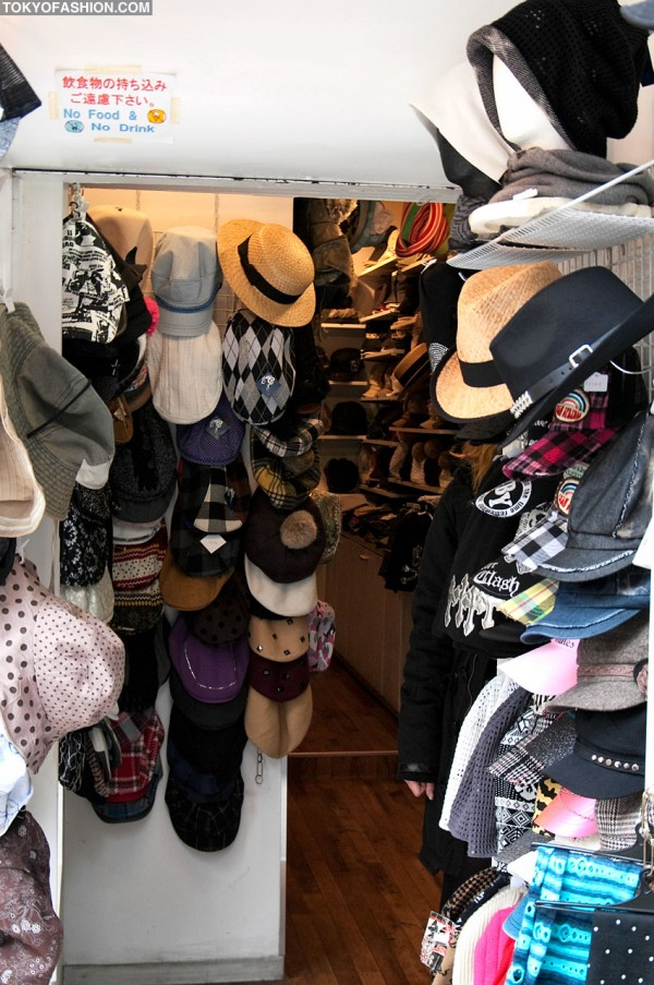 Hat Shop in Harajuku