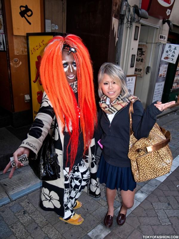 Amazing Shibuya Center Guy in Alba Rosa Fashion