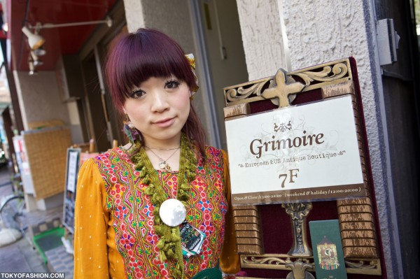 Grimoire Shibuya – Japanese Dolly-kei & Vintage Fashion Wonderland