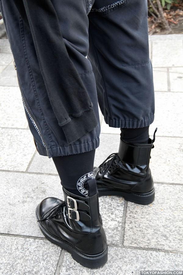 Chrome Hearts Leggings in Tokyo