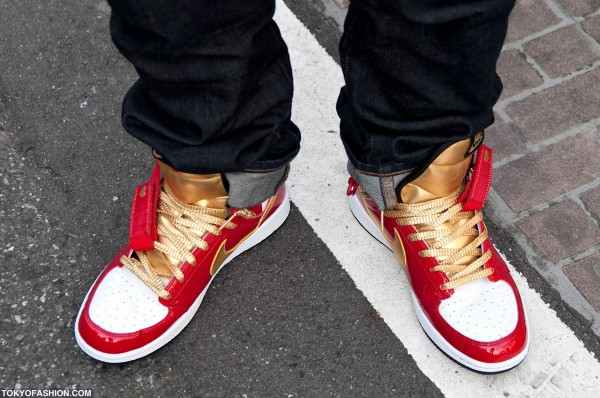 Nike Dynasty High Valentines Day Sneaker