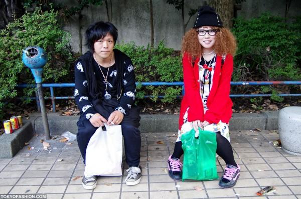 Curly Hair & Betty Boop on Cat Street in Harajuku