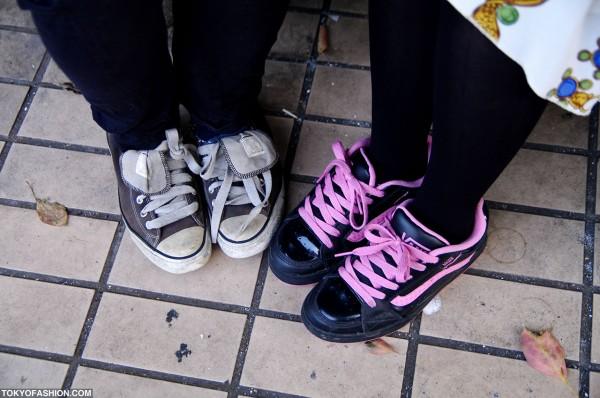 Vans vs. Converse Sneakers