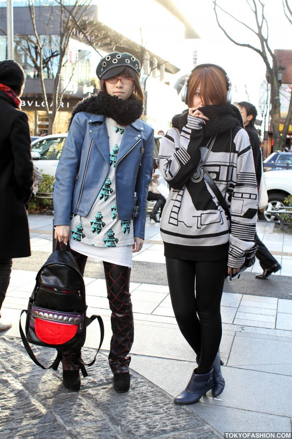 Japanese Girls in Galaxxxy Fashion
