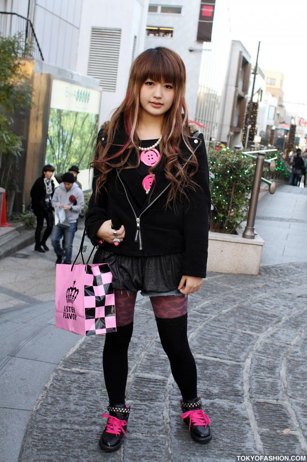 Listen Flavor x Super Lovers Style in Harajuku