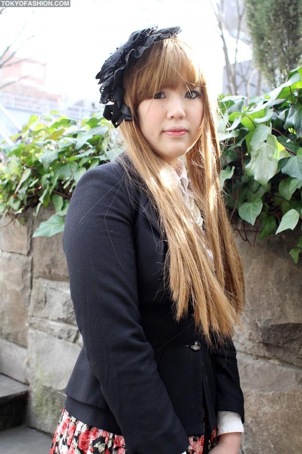 Japanese Girl in Vivienne Westwood Jacket