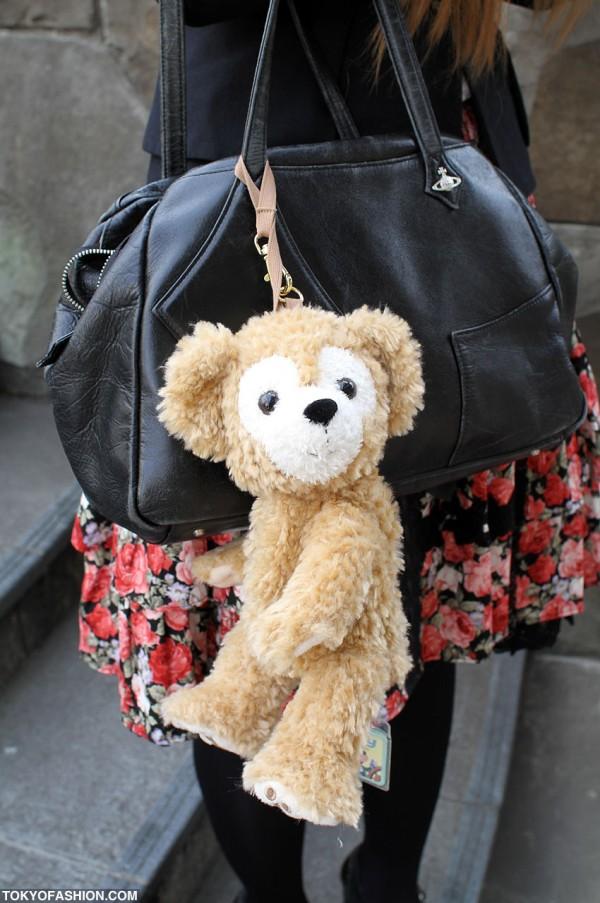 Cute Teddy Bear & Vivienne Westwood Bag
