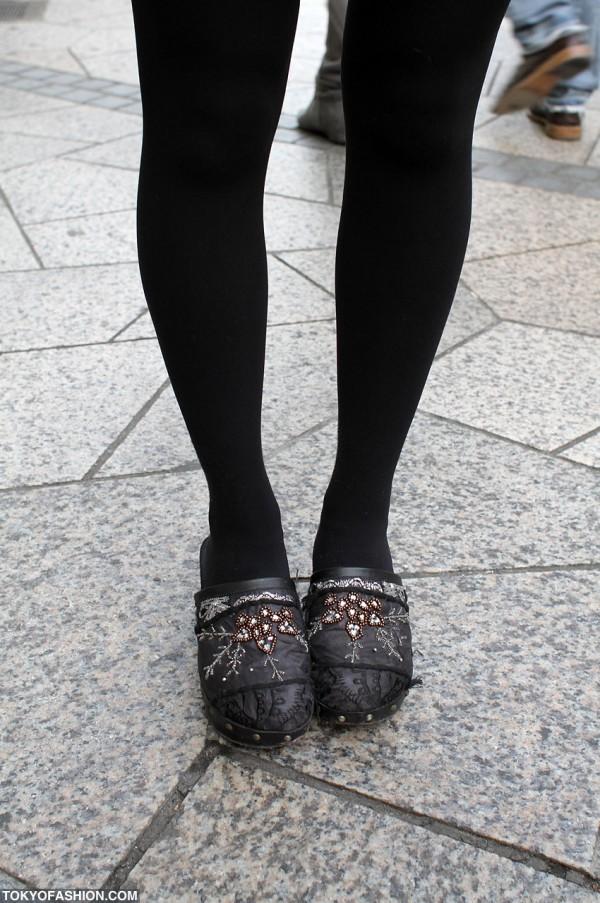 Vintage Platform Sandals in Harajuku