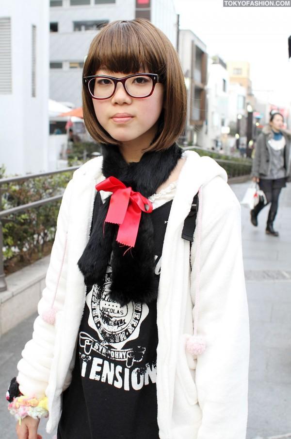 Nile Perch Girl in Harajuku