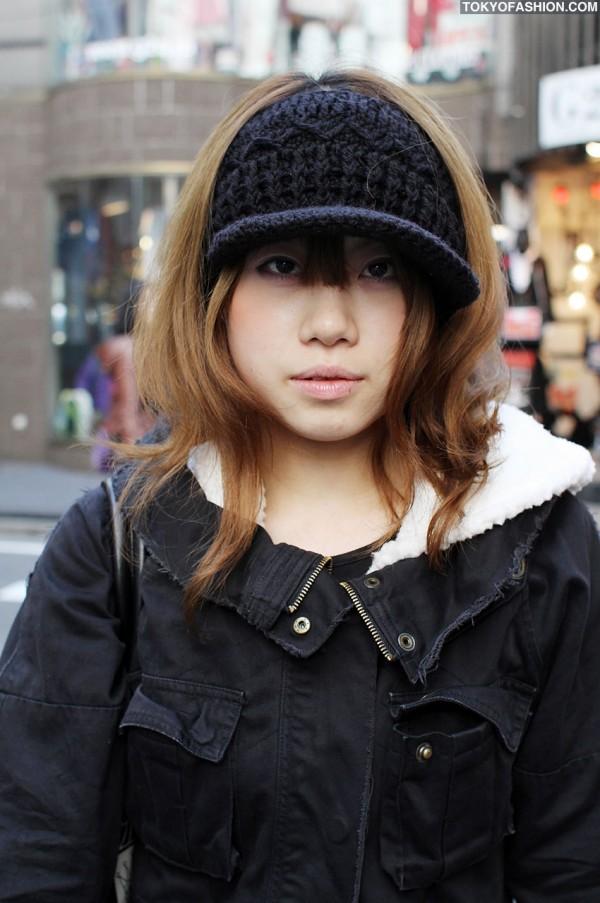 Knit Hat in Harajuku