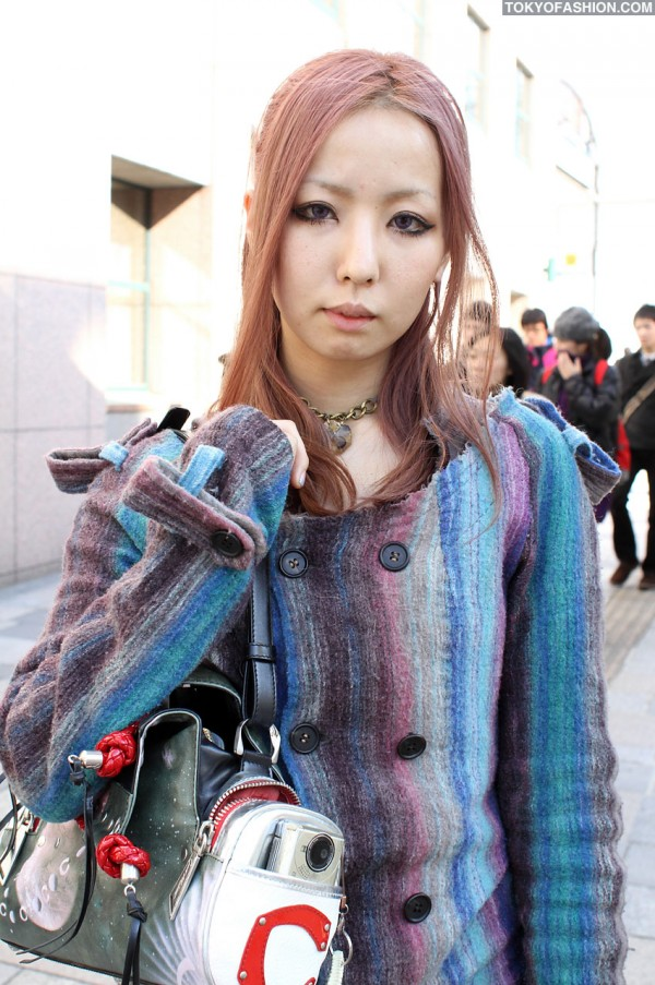 Colorful Hisui Jacket in Tokyo