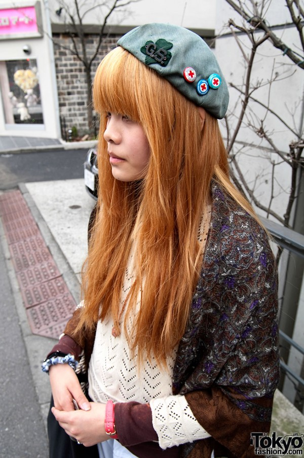 Girl Scout Hat Hair Bow Amp Smiles In Harajuku