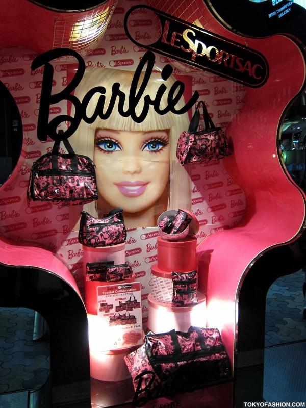 Barbie x LeSportsac in Harajuku