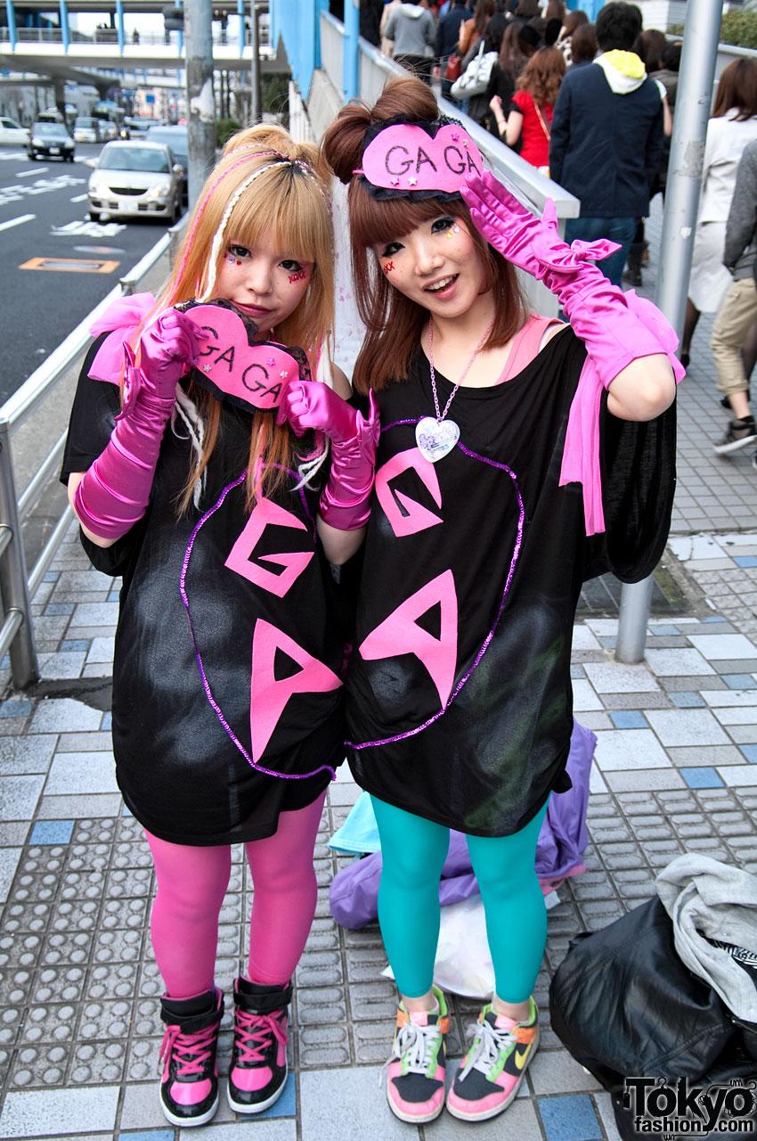 Lady Gaga Fans in Japan