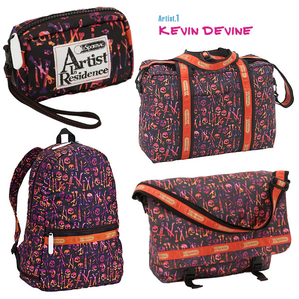 Kevin Devine for LeSportsac