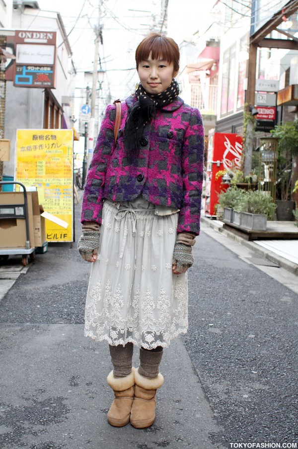Japanese Girl in Marc Jacobs Style