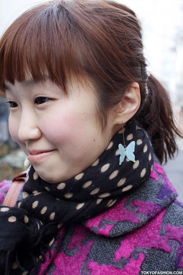 Cute Butterfly Earring