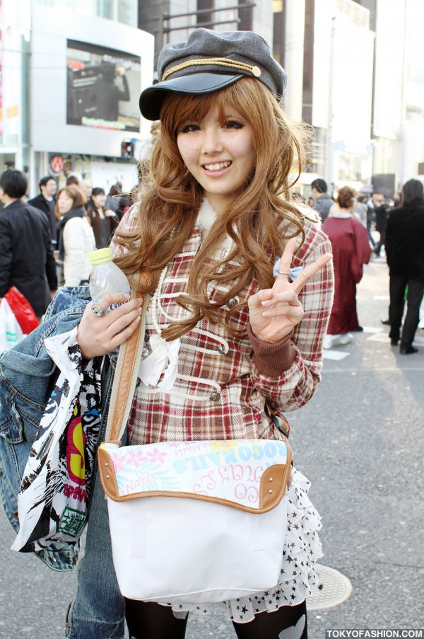 Japanese girls with Roco Nails bag