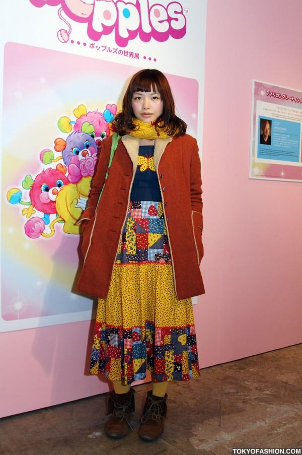 Japanese Girl in Vintage Fashion From Grog Grog