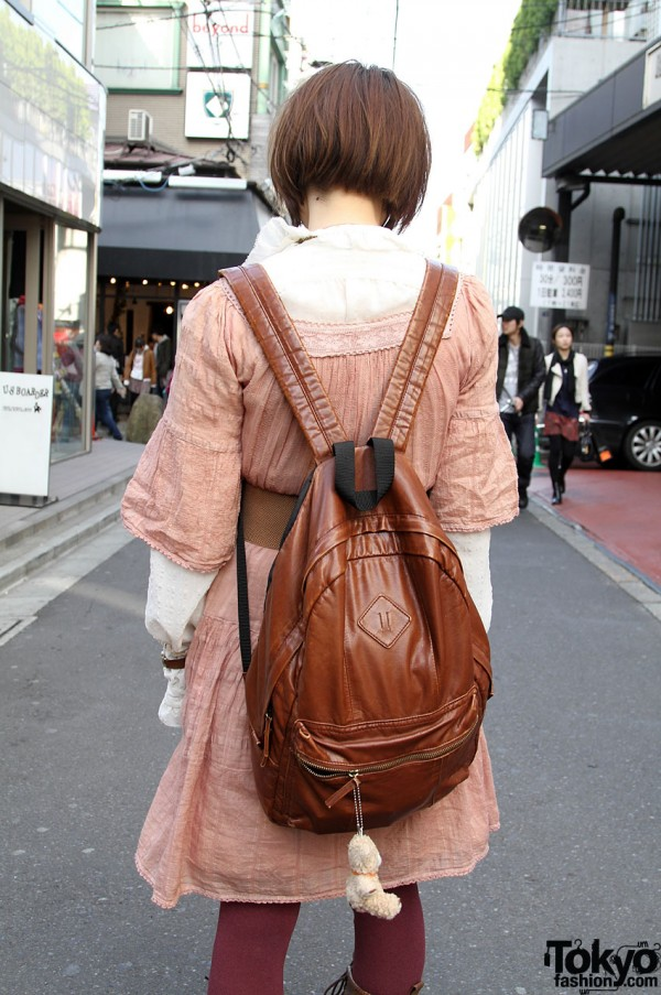 Vintage backpack from Bunkaya Zakkaten